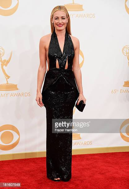 TV personality Cat Deeley arrives at the 65th Annual Primetime Emmy Awards held at Nokia Theatre LA Live on September 22 2013 in Los Angeles...