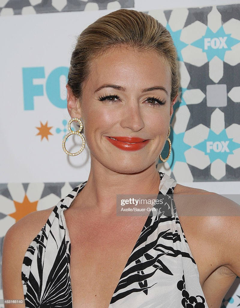 TV personality <a gi-track='captionPersonalityLinkClicked' href=/galleries/search?phrase=Cat+Deeley&family=editorial&specificpeople=202554 ng-click='$event.stopPropagation()'>Cat Deeley</a> arrives at the FOX All-Star Party 2014 Television Critics Association Summer Press Tour at Soho House on July 20, 2014 in West Hollywood, California.