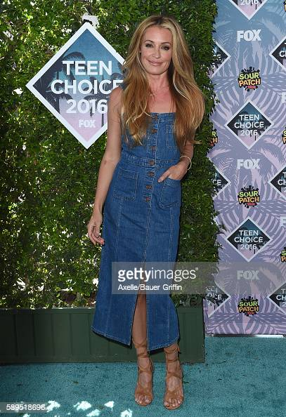 TV personality Cat Deeley arrives at the Teen Choice Awards 2016 at The Forum on July 31 2016 in Inglewood California