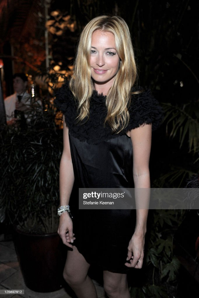 TV personality Cat Deeley attends Entertainment Weekly's celebration honoring the 17th Annual Screen Actors Guild Awards nominees hosted by Jess...