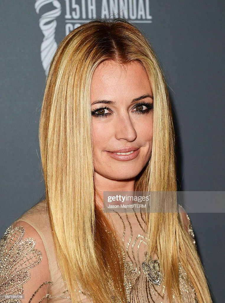 TV Personality <a gi-track='captionPersonalityLinkClicked' href=/galleries/search?phrase=Cat+Deeley&family=editorial&specificpeople=202554 ng-click='$event.stopPropagation()'>Cat Deeley</a> attends the 15th Annual Costume Designers Guild Awards with presenting sponsor Lacoste at The Beverly Hilton Hotel on February 19, 2013 in Beverly Hills, California.