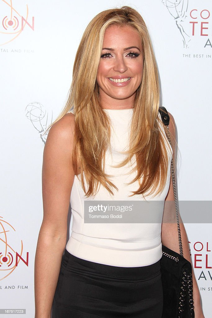 TV personality <a gi-track='captionPersonalityLinkClicked' href=/galleries/search?phrase=Cat+Deeley&family=editorial&specificpeople=202554 ng-click='$event.stopPropagation()'>Cat Deeley</a> attends the 34th College Television Awards Gala held at the JW Marriott Los Angeles at L.A. LIVE on April 25, 2013 in Los Angeles, California.
