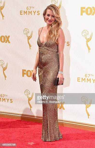TV personality Cat Deeley attends the 67th Emmy Awards at Microsoft Theater on September 20 2015 in Los Angeles California 25720_001