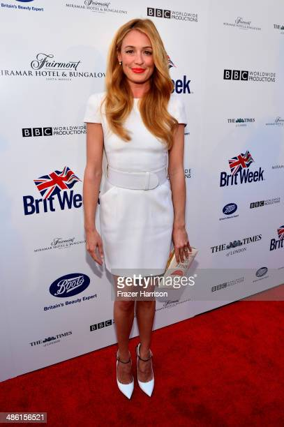 TV personality Cat Deeley attends the 8th Annual BritWeek Launch Party at a private residence on April 22 2014 in Los Angeles California