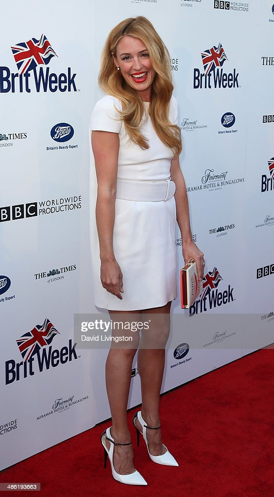 TV personality <a gi-track='captionPersonalityLinkClicked' href=/galleries/search?phrase=Cat+Deeley&family=editorial&specificpeople=202554 ng-click='$event.stopPropagation()'>Cat Deeley</a> attends the 8th Annual BritWeek Launch Party on April 22, 2014 in Los Angeles, California.