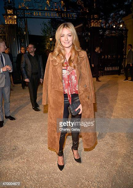 TV personality Cat Deeley attends the Burberry 'London in Los Angeles' event at Griffith Observatory on April 16 2015 in Los Angeles California