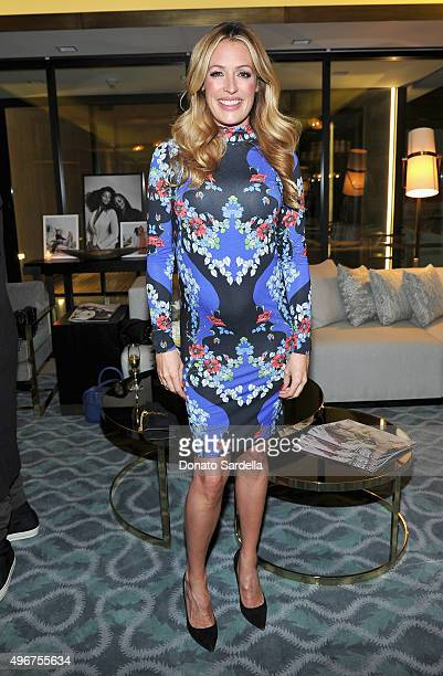 TV personality Cat Deeley attends The Hollywood Reporter's Beauty Dinner at The London West Hollywood on November 11 2015 in West Hollywood California