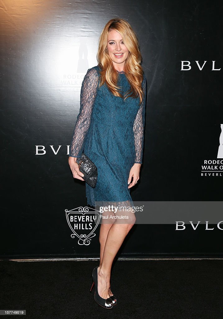 TV Personality <a gi-track='captionPersonalityLinkClicked' href=/galleries/search?phrase=Cat+Deeley&family=editorial&specificpeople=202554 ng-click='$event.stopPropagation()'>Cat Deeley</a> attends the Rodeo Drive Walk of Style honoring BVLGARI on December 5, 2012 in Beverly Hills, California.