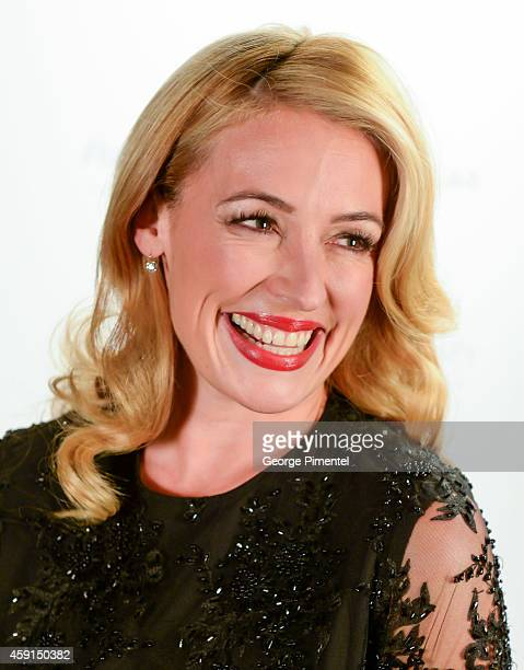 TV personality Cat Deeley hosts The 2014 PG Beauty Awards at The Arcadian Court on November 17 2014 in Toronto Canada