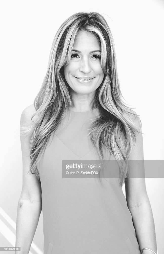 TV personality Cat Deeley poses for a portrait during the 2015 Teen Choice Awards FOX Portrait Studio at Galen Center on August 16 2015 in Los...