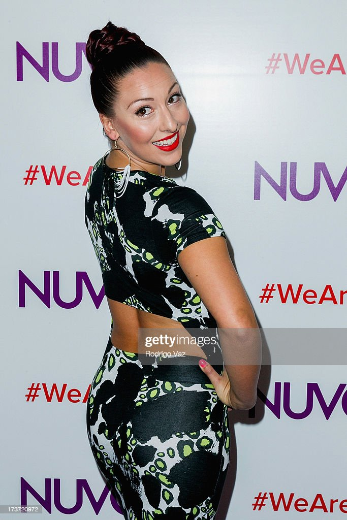 TV personality Cat Rendic attends NUVOtv Network launch party at The London West Hollywood on July 16, 2013 in West Hollywood, California.