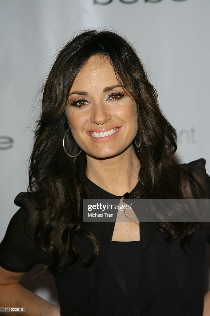 TV Personality Catt Sadler arrives at the bebe lingerie launch party held at Element nightclub on February 13 2008 in Hollywood California
