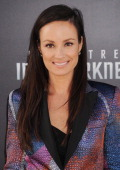 Personality Catt Sadler arrives at the Los Angeles premiere of 'Star Trek Into Darkness' at Dolby Theatre on May 14 2013 in Hollywood California