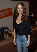 TV personality Catt Sadler attends a VIP event hotsted by ARIZONA JEAN CO in Los Angeles with Tori Kelly and Becky G at The Bookbindery on August 27...