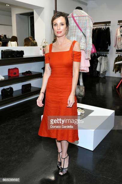 TV personality Catt Sadler attends DIOR SS17 Collection Launch at Maxfield on April 5 2017 in Los Angeles California