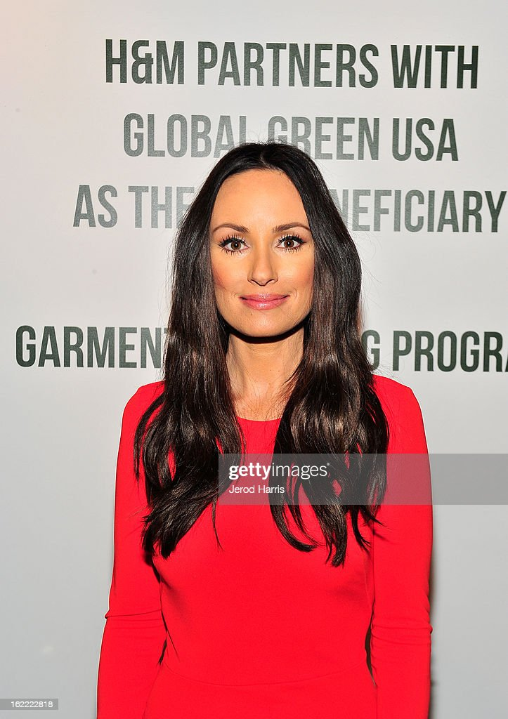 TV personality Catt Sadler attends Global Green USA's 10th Anniversary Pre-Oscar Party sponsored by H&M at Avalon on February 20, 2013 in Hollywood, California.