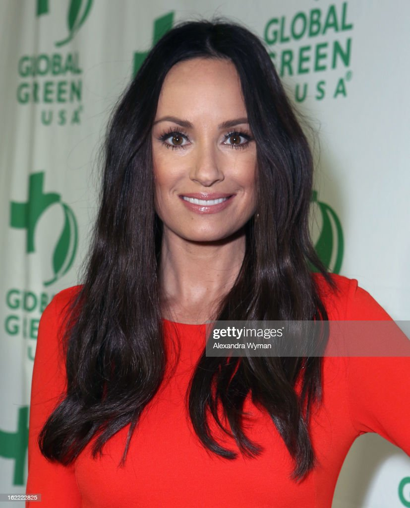 TV personality Catt Sadler attends Global Green USA's 10th Annual Pre-Oscar Party at Avalon on February 20, 2013 in Hollywood, California.