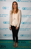 TV personality Catt Sadler attends Hollywood Heals Spotlight On Tourette Syndrome at The Conga Room at LA Live on February 27 2014 in Los Angeles...