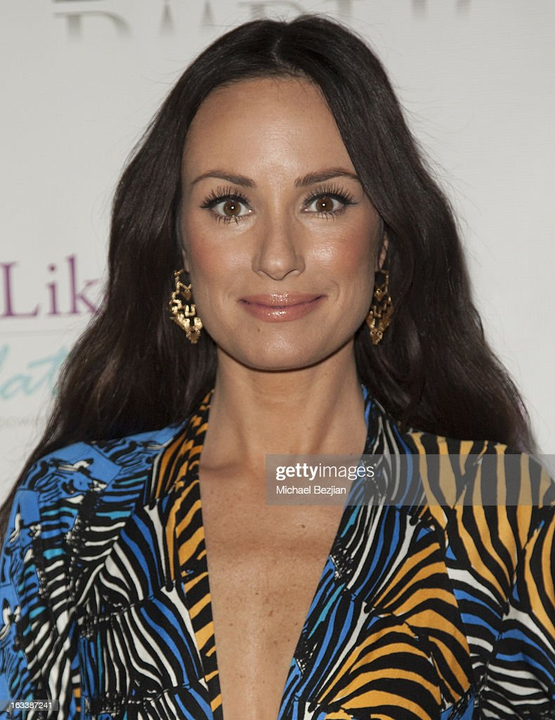 TV personality Catt Sadler attends Pre-LAFW Launch Party In Support Of The Women Like Us Foundation at Lexington Social House on March 8, 2013 in Hollywood, California.