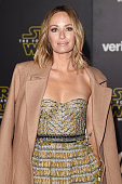 TV personality Catt Sadler attends Premiere of Walt Disney Pictures and Lucasfilm's 'Star Wars The Force Awakens' on December 14 2015 in Hollywood...