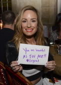 TV personality Catt Sadler attends Sarah Boyd x CapwellCo Collaboration Launch Dinner at Chateau Marmont on January 28 2014 in Los Angeles California