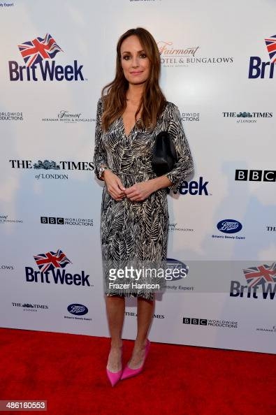 TV personality Catt Sadler attends the 8th Annual BritWeek Launch Party at a private residence on April 22 2014 in Los Angeles California