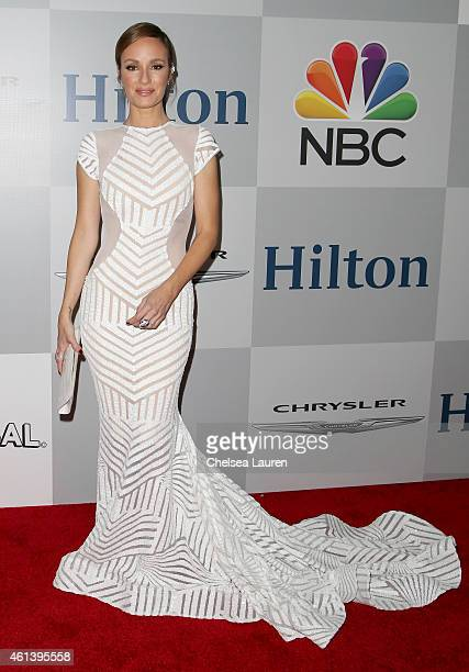 Personality Catt Sadler attends the NBCUniversal 2015 Golden Globe Awards Party sponsored by Chrysler at The Beverly Hilton Hotel on January 11 2015...