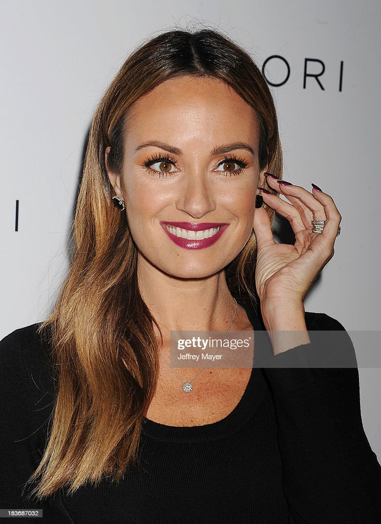 TV personality Catt Sadler attends the Tacori's Annual Club Tacori 2013 Event at Greystone Manor Supperclub on October 8 2013 in West Hollywood