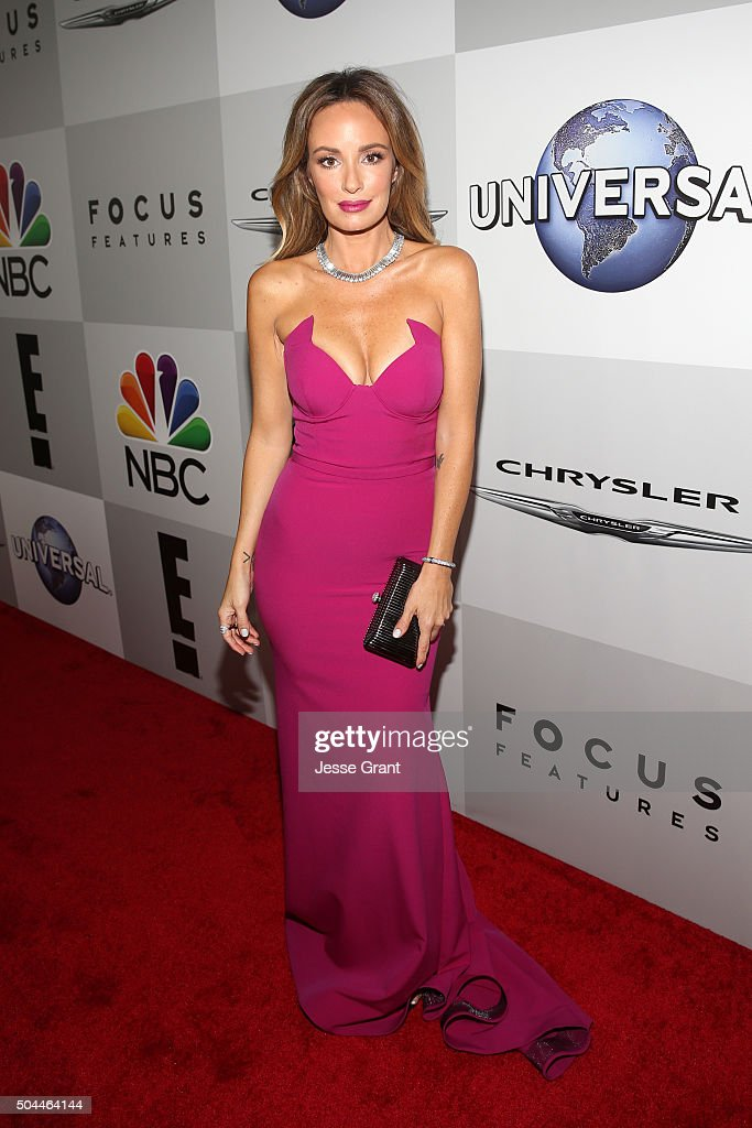 TV personality Catt Sadler attends Universal NBC Focus Features and E Entertainment Golden Globe Awards After Party sponsored by Chrysler at The...