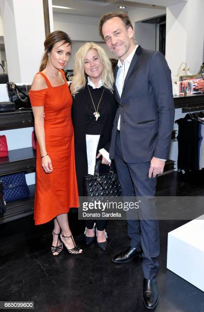 TV personality Catt Sadler Sarah Stewart and Christian Dior Couture and Parfums Christian Dior President and CEO of North America Renaud de Lesquen...