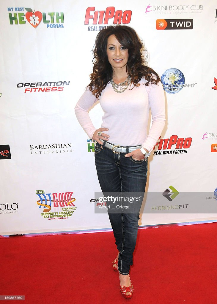 Personality CC Perkinson participates in the Red Carpet Health Expo held at The Vitamin Shoppe on January 12, 2013 in Los Angeles, California.