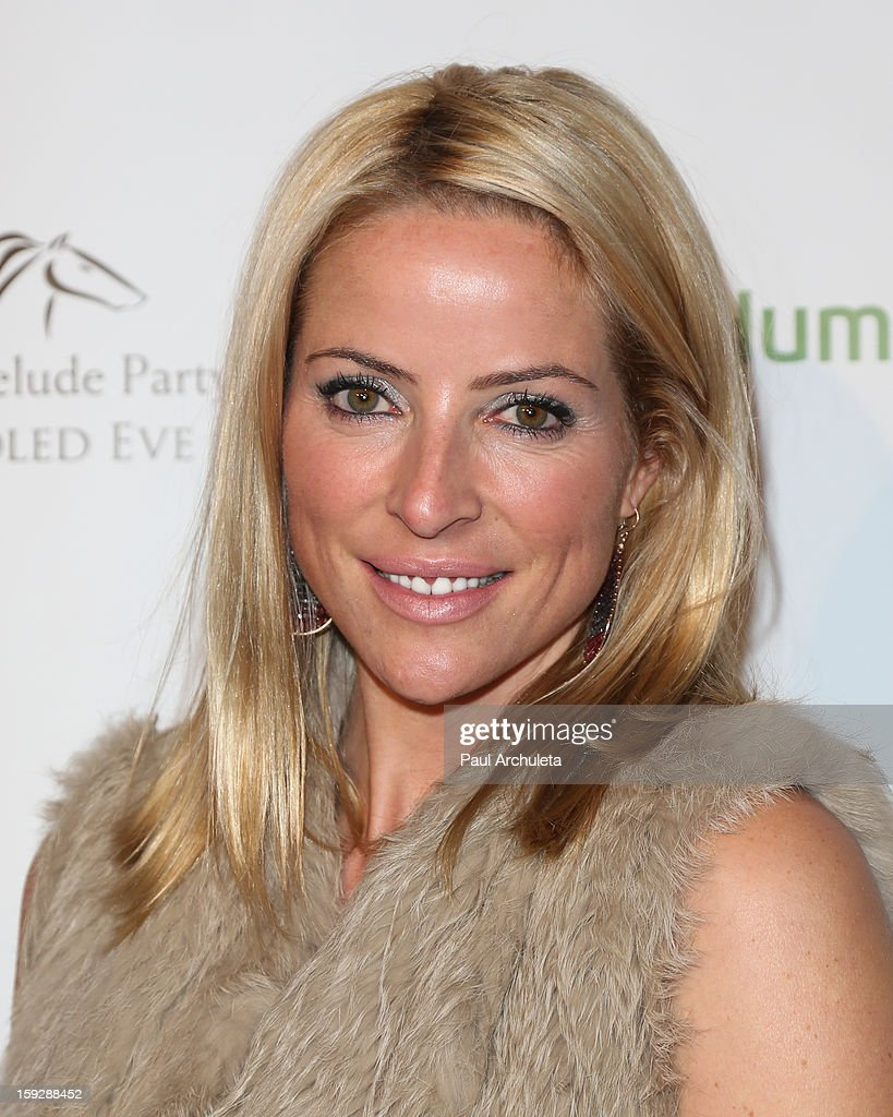 TV Personality Chantal Sutherland attends the Los Angeles Unbridled Derby prelude party at The London Hotel on January 10, 2013 in West Hollywood, California.