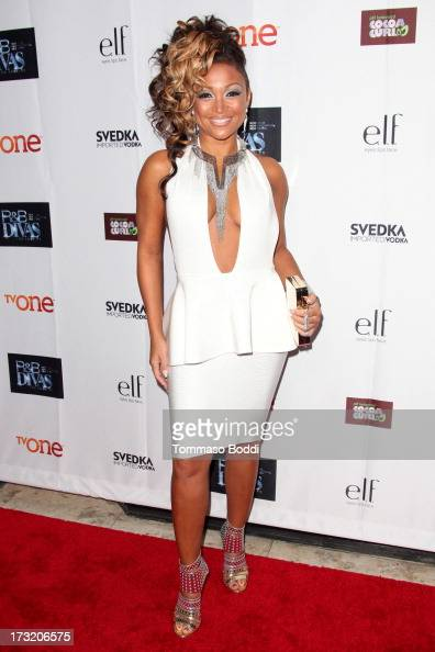 TV personality Chante Moore attends the TV One's New Series 'RB Divas LA' launch party held at The London Hotel on July 9 2013 in West Hollywood...