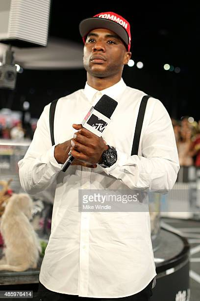TV personality Charlamagne Tha God visits The Shelter Pet Project during the 2015 MTV Video Music Awards at Microsoft Theater on August 30 2015 in...