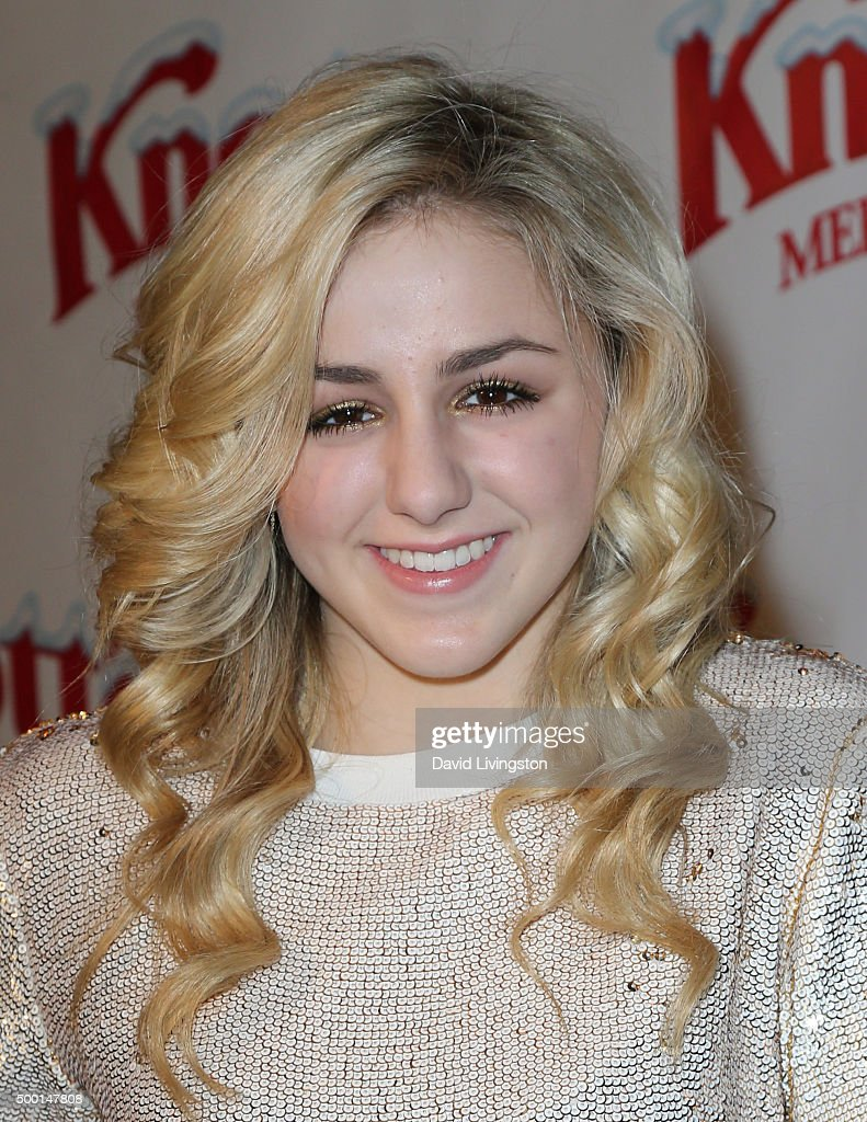 TV personality Charlie Lukasiak attends Knott's Berry Farm's Countdown To Christmas And Snoopy's Merriest Tree Lighting at Knott's Berry Farm on...