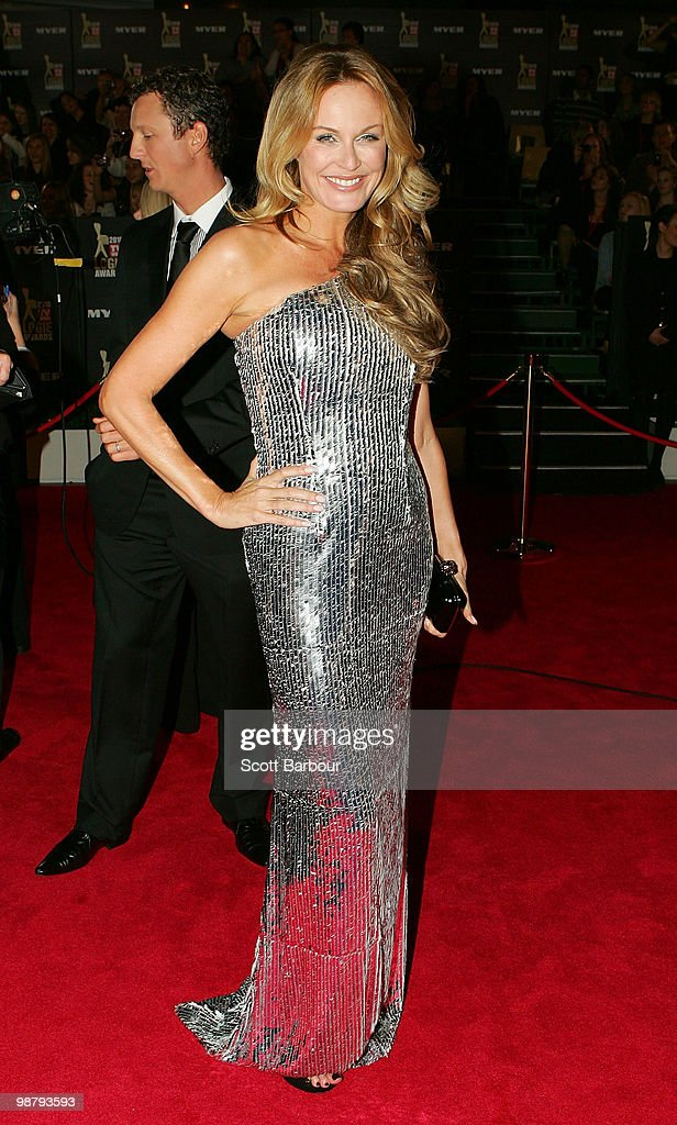 TV personality Charlotte Dawson arrives at the 52nd TV Week Logie Awards at Crown Casino on May 2 2010 in Melbourne Australia