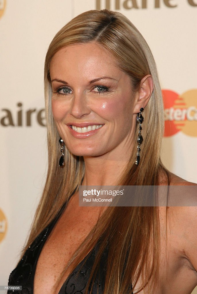 TV personality Charlotte Dawson attends the 2007 Prix De Marie Claire Awards at the White Bay Studios Rozelle on March 29 2007 in Sydney Australia...