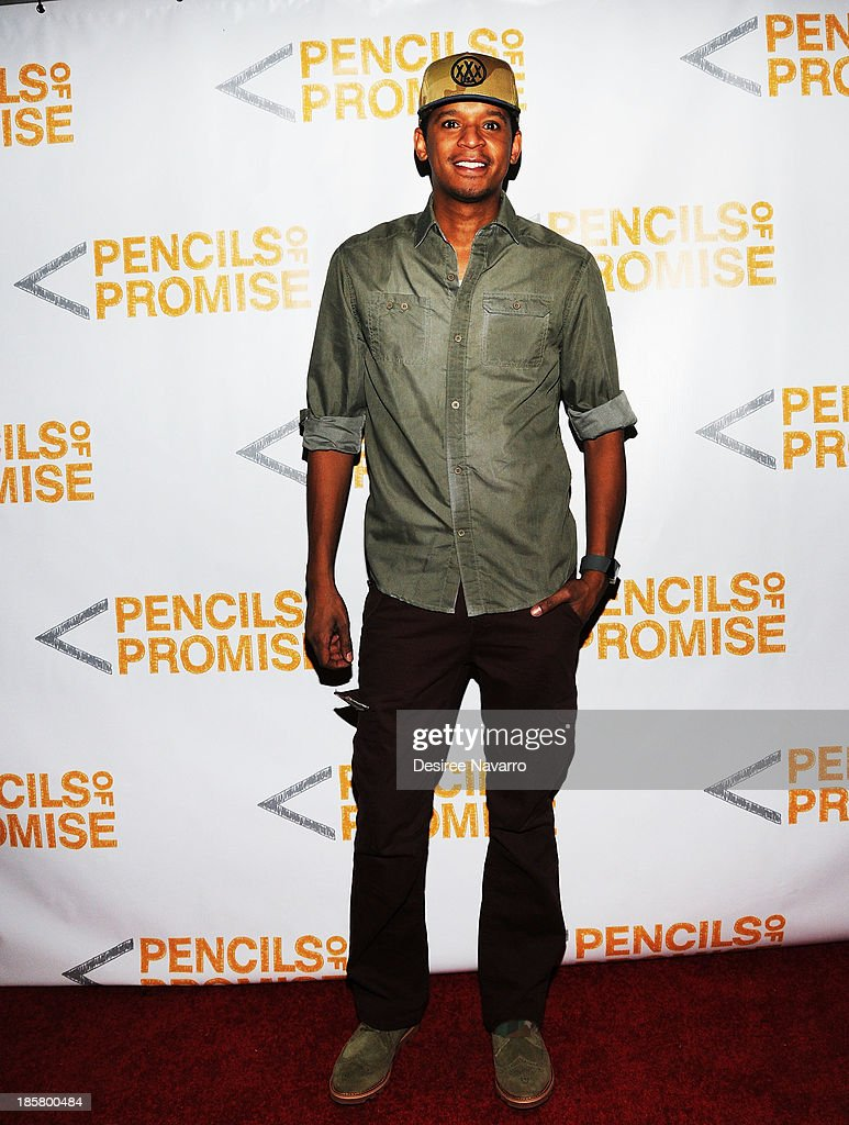 TV personality Chef Roble attends the 3rd annual Pencils of Promise Gala at Guastavino's on October 24, 2013 in New York City.