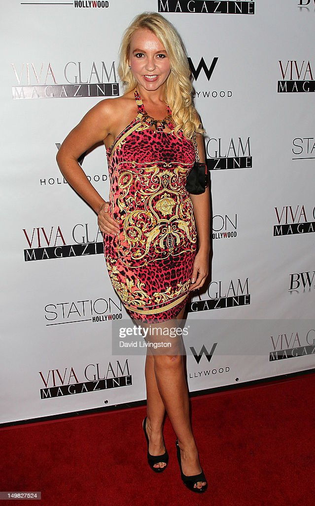 TV personality Chelsea Autumn attends the Viva Glam Magazine September Issue launch party at Station Hollywood on July 31, 2012 in Hollywood, California.