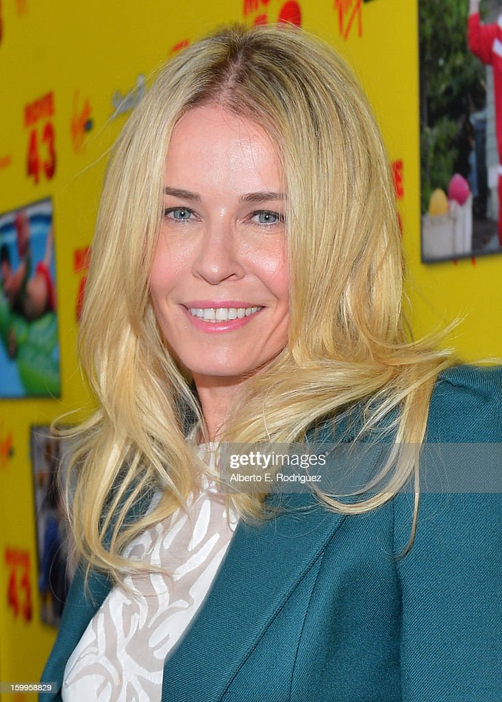 TV personality Chelsea Handler attends Relativity Media's 'Movie 43' Los Angeles Premiere held at the TCL Chinese Theatre on January 23, 2013 in Hollywood, California.