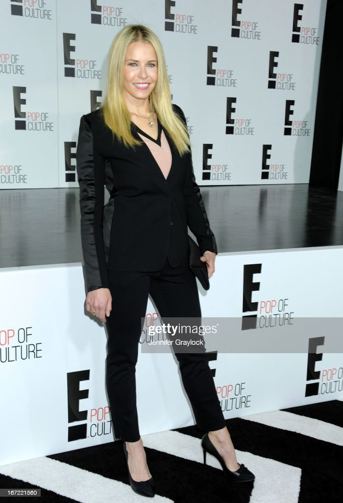 TV personality Chelsea Handler attends the E! 2013 Upfront at The Grand Ballroom at Manhattan Center on April 22, 2013 in New York City.
