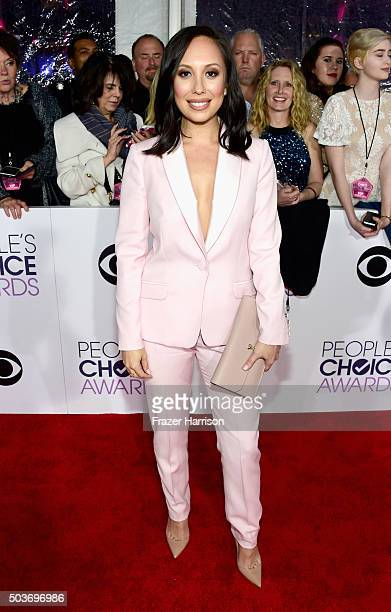 TV personality Cheryl Burke attends the People's Choice Awards 2016 at Microsoft Theater on January 6 2016 in Los Angeles California
