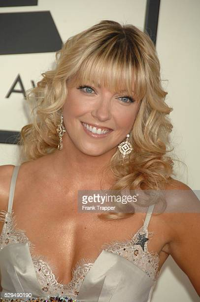 TV Personality Cheryl Hickey arrives on the red carpet during the 50th Annual GRAMMY�� Awards at the Staples Center in Los Angeles