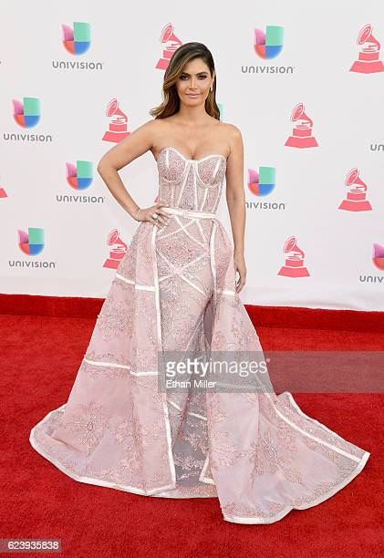 TV personality Chiqui Delgado attends The 17th Annual Latin Grammy Awards at TMobile Arena on November 17 2016 in Las Vegas Nevada