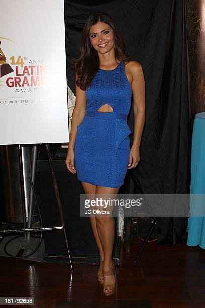 Personality Chiquinquira Delgado attends The 14th Annual Latin GRAMMY Awards Nominations Announcement at Avalon on September 25 2013 in Hollywood...