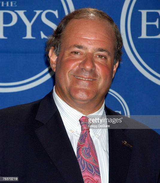 ESPN personality Chris Berman in the press room during the 2007 ESPY Awards at the Kodak Theater on July 11 2007 in Hollywood California