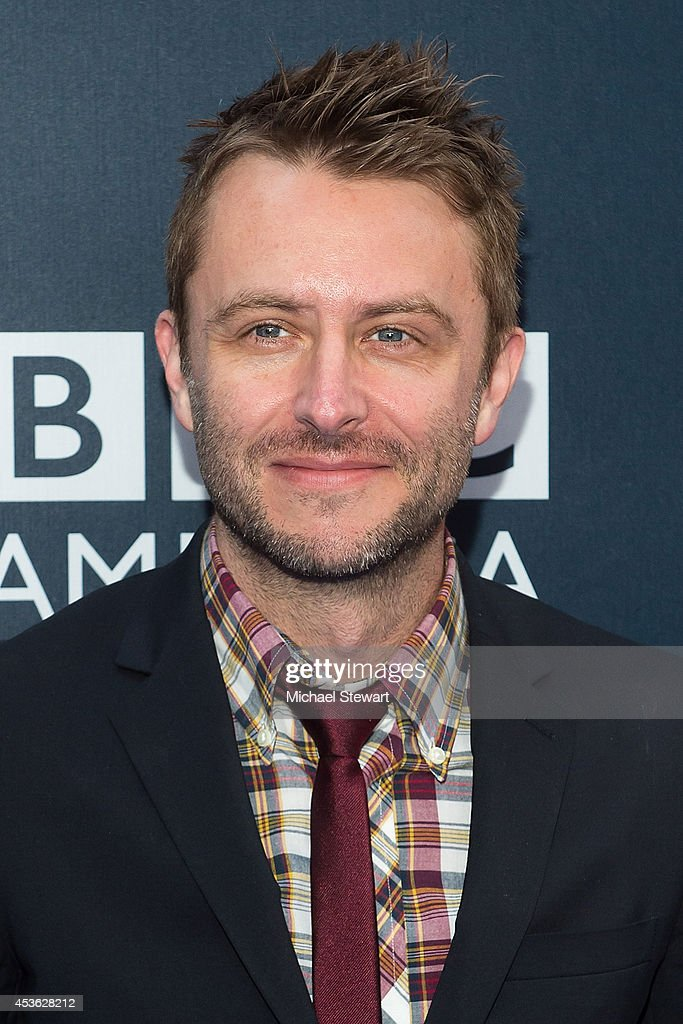 TV personality <a gi-track='captionPersonalityLinkClicked' href=/galleries/search?phrase=Chris+Hardwick&family=editorial&specificpeople=960855 ng-click='$event.stopPropagation()'>Chris Hardwick</a> attends BBC America's 'Doctor Who' Premiere Fan Screening at Ziegfeld Theater on August 14, 2014 in New York City.