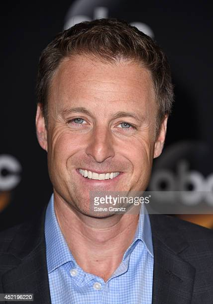 TV personality Chris Harrison attends the Disney/ABC Television Group 2014 Television Critics Association Summer Press Tour at The Beverly Hilton...