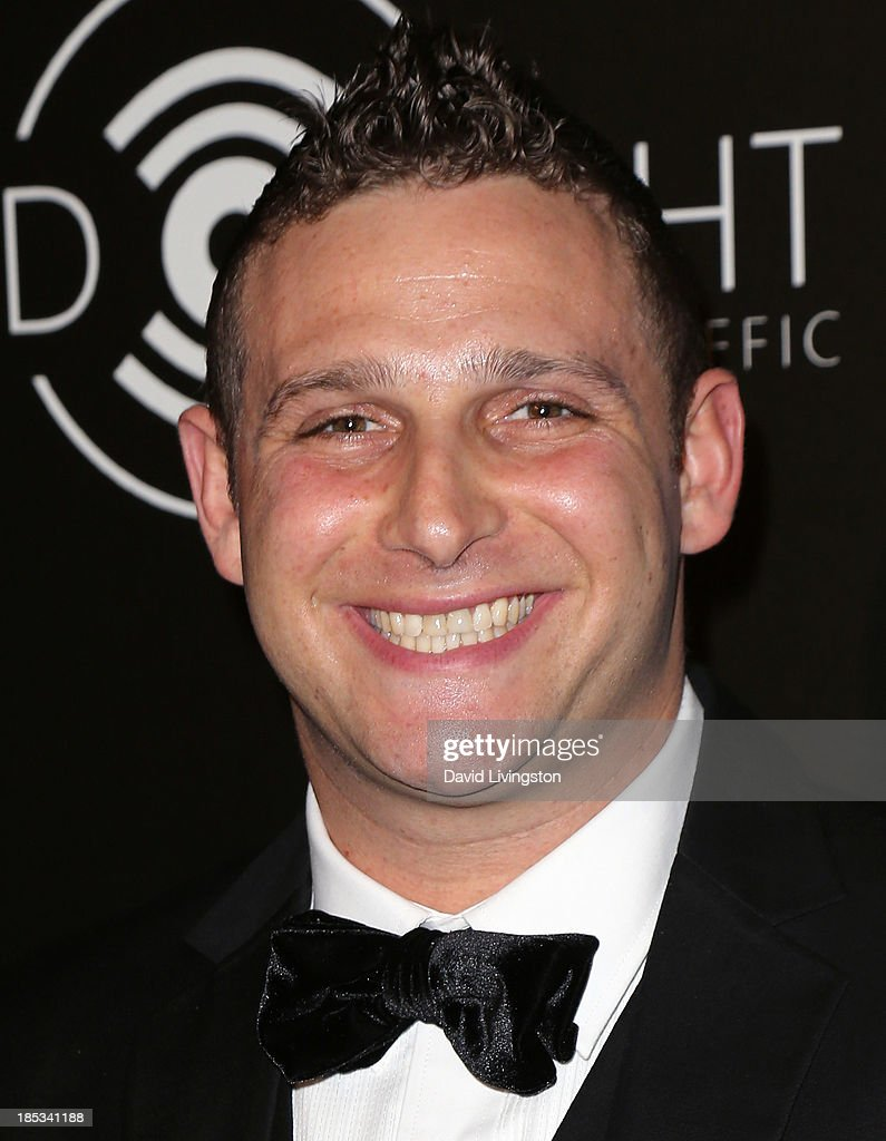 TV personality Chris Nirschel attends the launch of the Redlight Traffic app at the Dignity Gala at The Beverly Hilton Hotel on October 18, 2013 in Beverly Hills, California.
