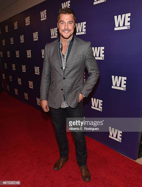 TV personality Chris Soules attends the WE tv presents 'The Evolution of The Relationship Reality Show' at The Paley Center for Media on March 19...